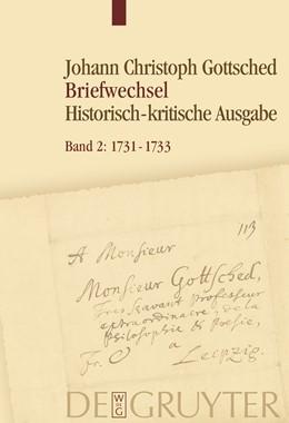 Abbildung von Döring / Otto / Schlott | 1731-1733 | 2008 | Unter Einschluss des Briefwech...