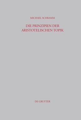 Abbildung von Schramm | Die Prinzipien der Aristotelischen Topik | 2004 | 192