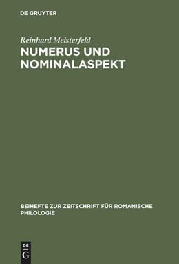 Abbildung von Meisterfeld | Numerus und Nominalaspekt | 1998 | Eine Studie zur romanischen Ap... | 293