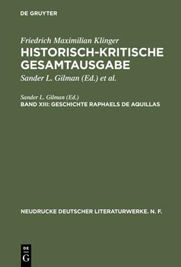 Abbildung von Gilman   Geschichte Raphaels de Aquillas   1993   42