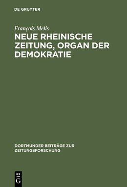 Abbildung von Melis | Neue Rheinische Zeitung, Organ der Demokratie | Reprint 2014 | 2000 | Organ der Demokratie. Edition ... | 57