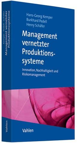 Abbildung von Kemper / Pedell   Management vernetzter Produktionssysteme   1. Auflage   2011   beck-shop.de