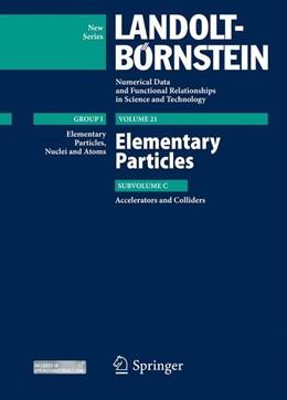 Abbildung von Schopper / Amaldi / Myers | Elementary Particles - Accelerators and Colliders | 2013 | 21C