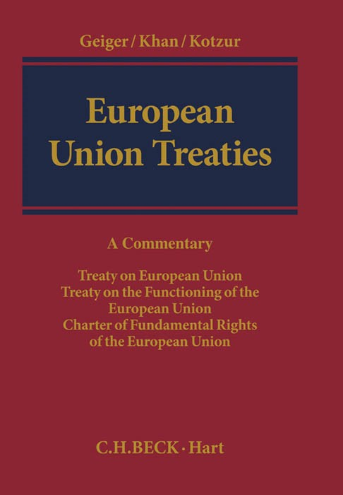 European Union Treaties | Geiger / Khan / Kotzur, 2014 | Buch (Cover)