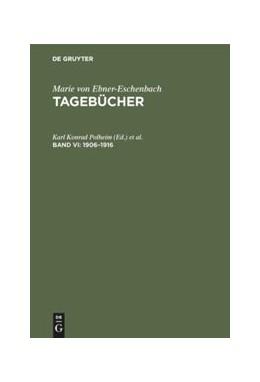 Abbildung von Polheim / Gabriel | 1906–1916 | 1. Auflage | 1997 | beck-shop.de