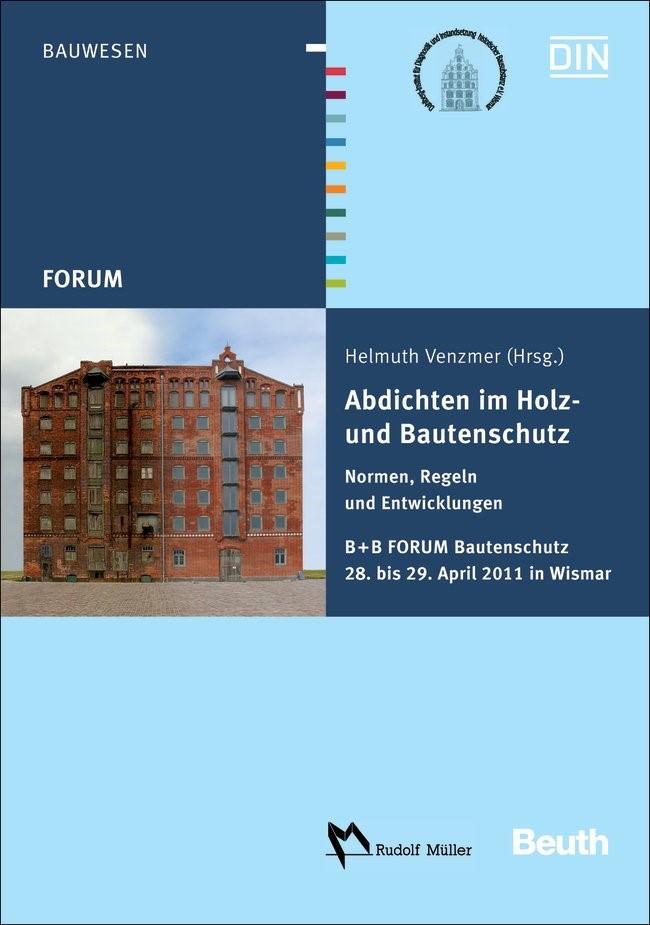 Abdichten im Holz- und Bautenschutz | / Venzmer, 2011 | Buch (Cover)