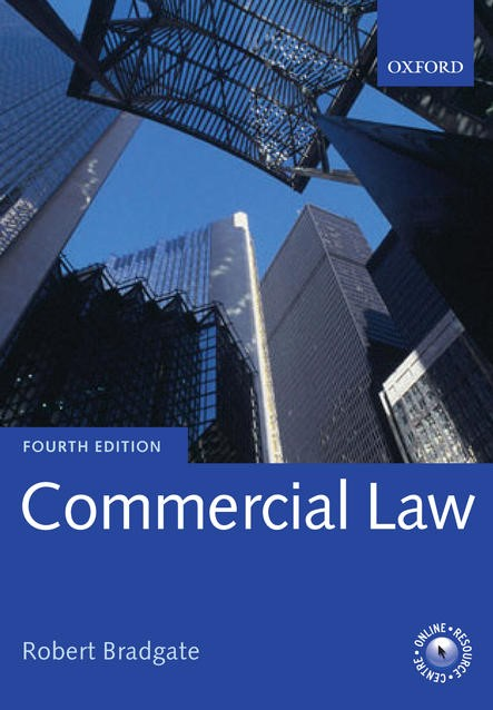 Commercial Law | Bradgate, 2013 | Buch (Cover)