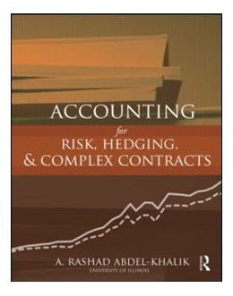 Abbildung von Abdel-Khalik | Accounting for Risk, Hedging and Complex Contracts | 2013