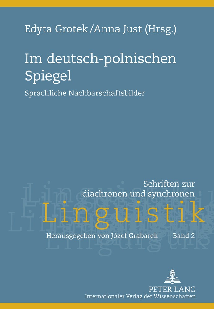 Im deutsch-polnischen Spiegel | Just / Grotek, 2011 | Buch (Cover)