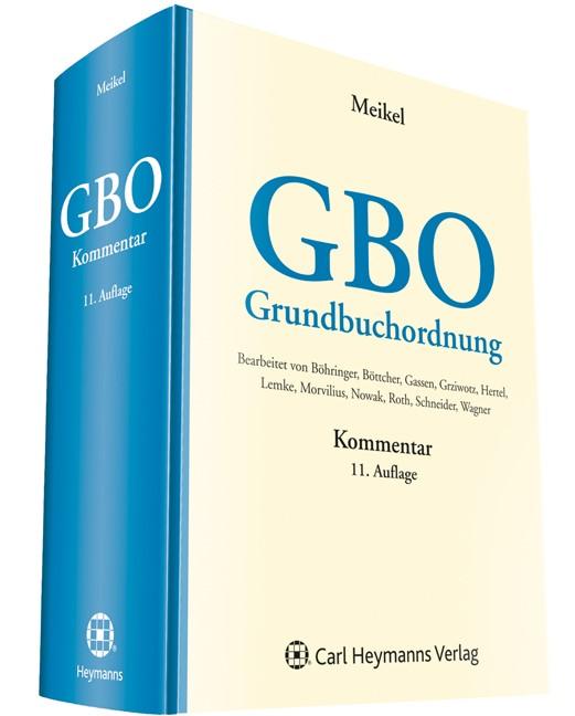 Grundbuchordnung: GBO | Meikel (Hrsg.) | 11. Auflage, 2014 | Buch (Cover)