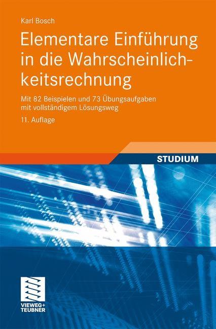 Elementare Einführung in die Wahrscheinlichkeitsrechnung | Bosch | 11., aktual. Aufl., 2011 | Buch (Cover)