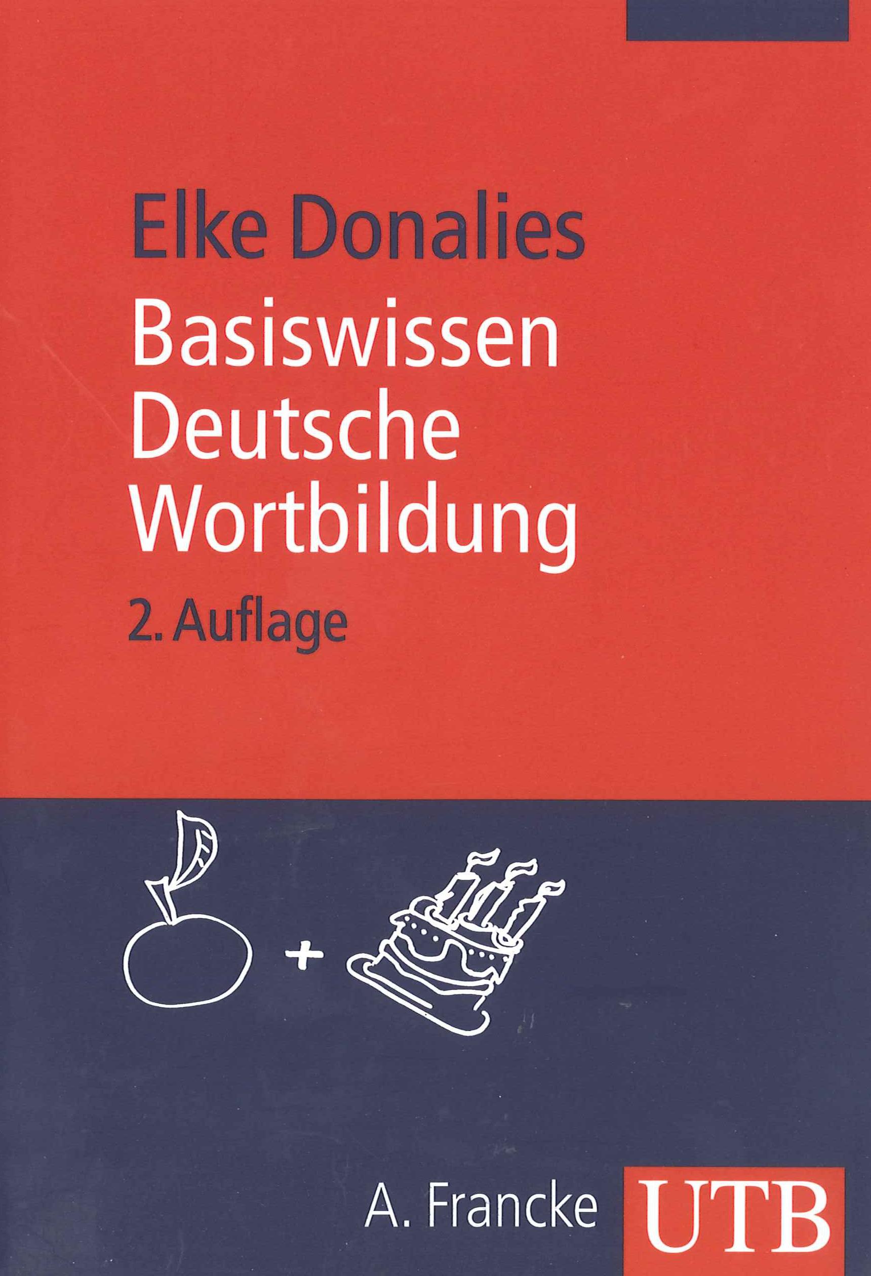 Abbildung von Donalies | Basiswissen Deutsche Wortbildung | 2011