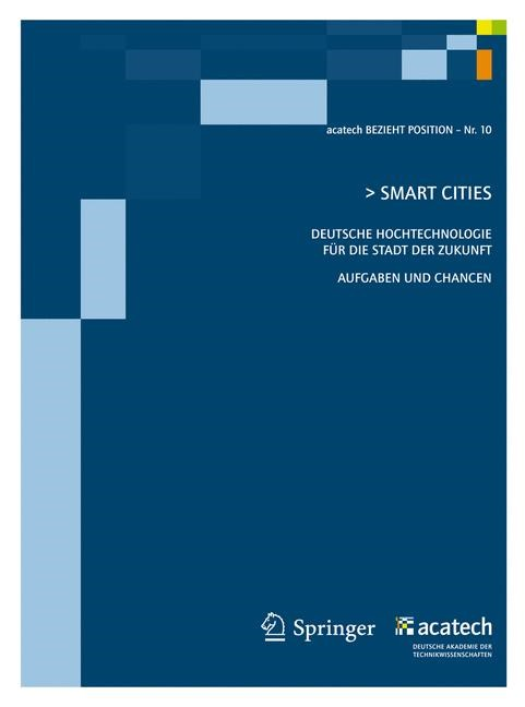 Smart Cities | acatech - Deutsche Akademie der Technikw, 2011 | Buch (Cover)