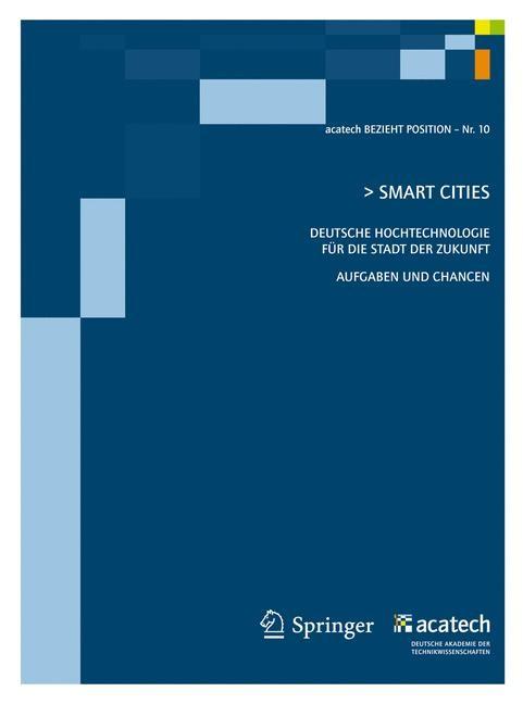 Smart Cities | acatech - Deutsche Akademie der Technikw, 2011 | Buch (Cover)