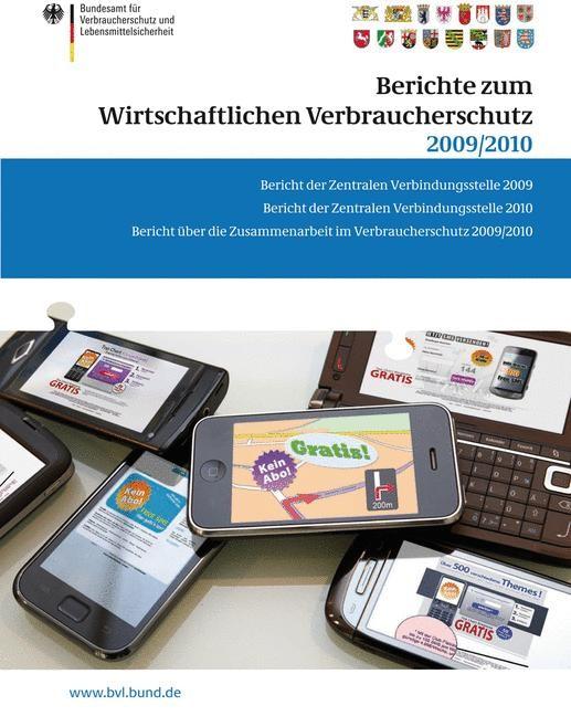 Abbildung von Dombrowski   Berichte zum Wirtschaftlichen Verbraucherschutz 2009/2010   2011