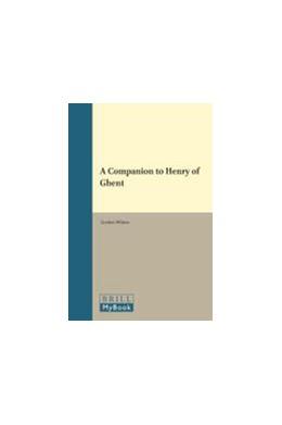 Abbildung von A Companion to Henry of Ghent   2010   23