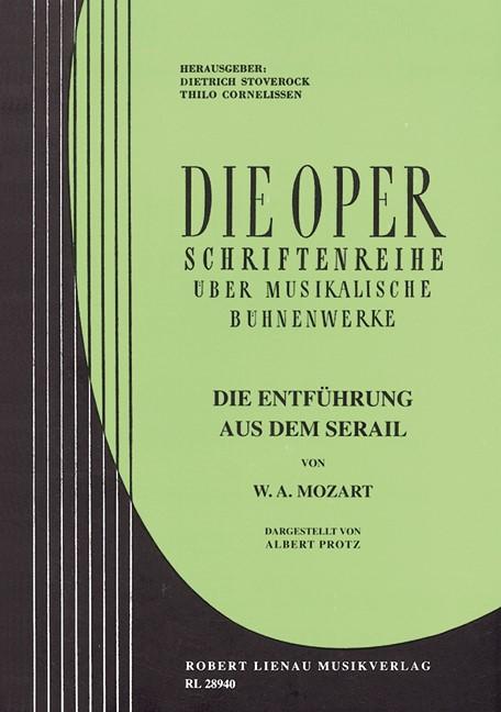 Die Oper / Die Entführung aus dem Serail   Mozart, 1959   Buch (Cover)