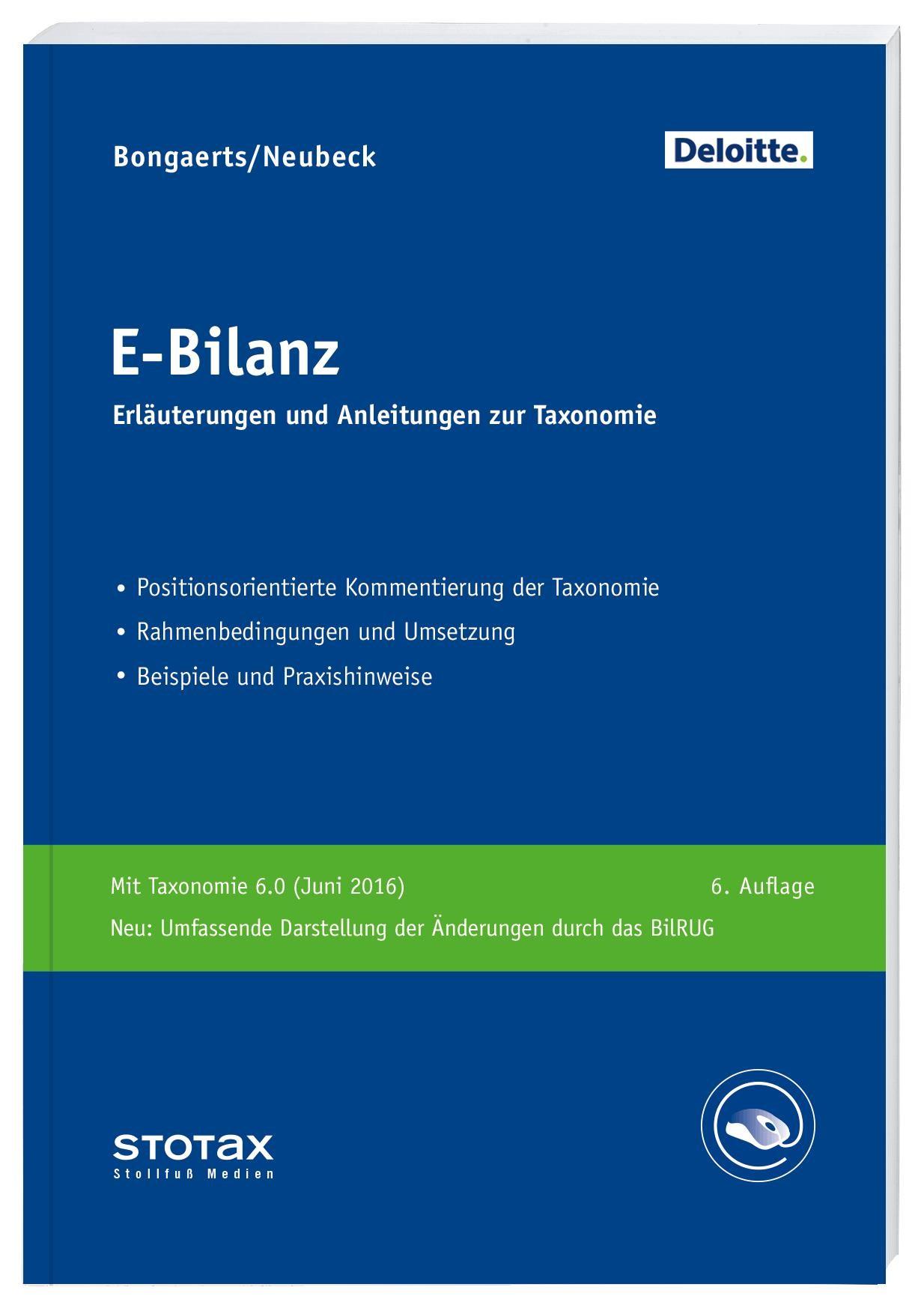E-Bilanz • Online | Bongaertz / Neubeck, 2011 (Cover)