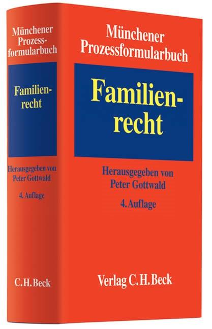 Münchener Prozessformularbuch, Band 3: Familienrecht (Cover)