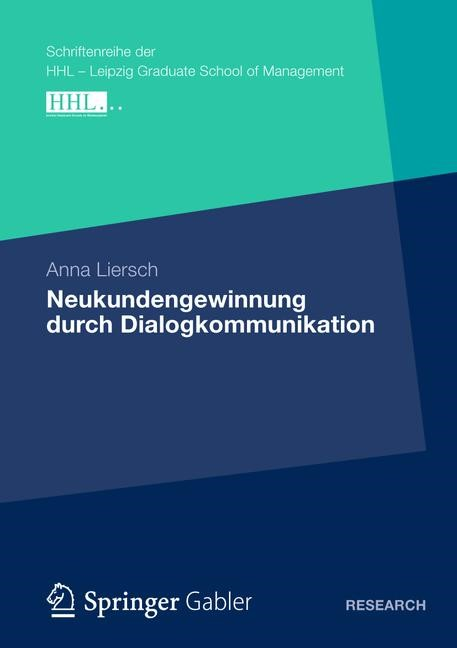 Neukundengewinnung durch Dialogkommunikation   Liersch   1. Auflage 2012, 2012   Buch (Cover)