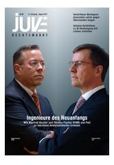 JUVE Rechtsmarkt | 22. Jahrgang (Cover)