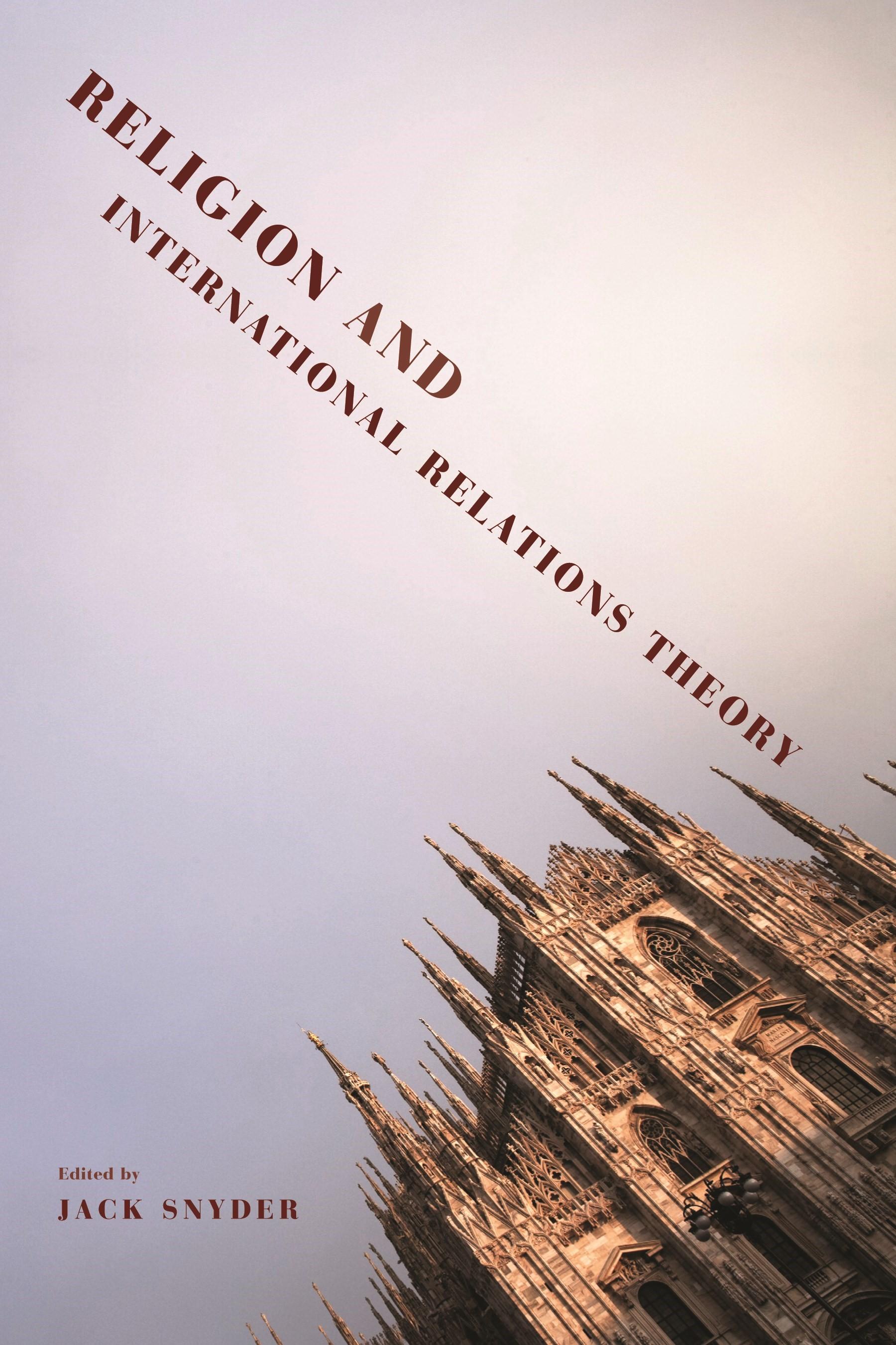 Abbildung von Snyder   Religion and International Relations Theory   2011