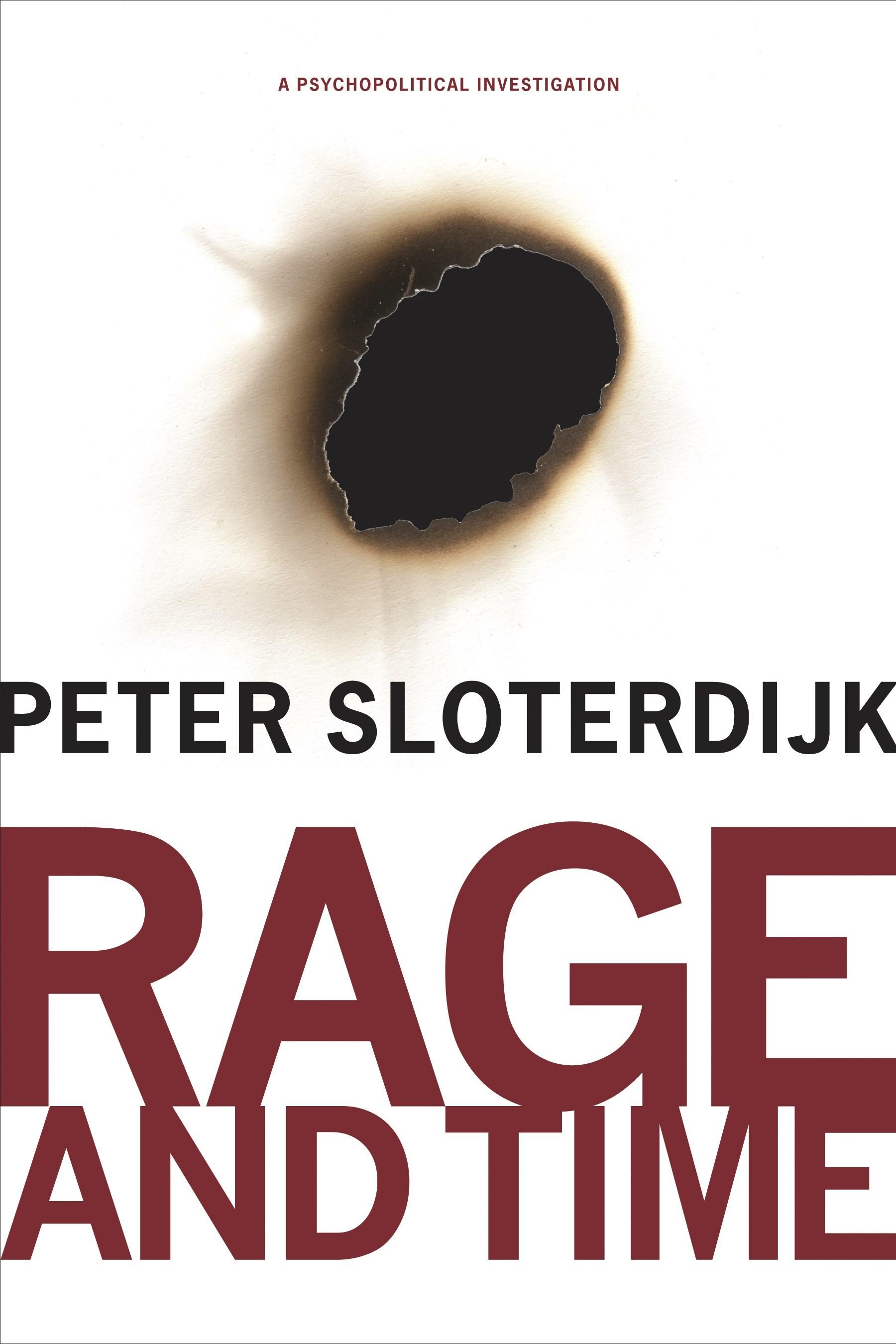 Abbildung von Sloterdijk   Rage and Time   2010