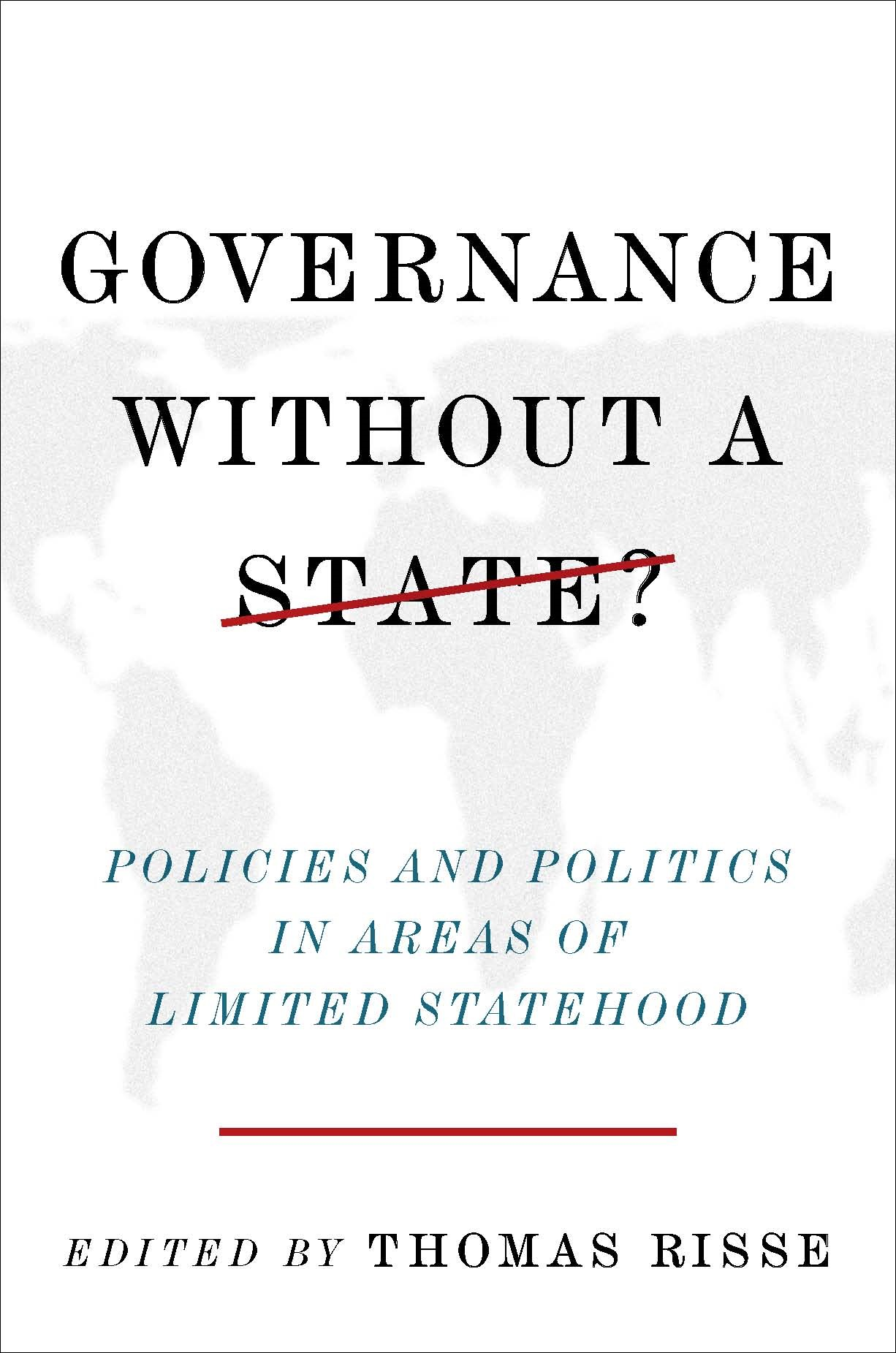Abbildung von Risse | Governance Without a State? | 2011