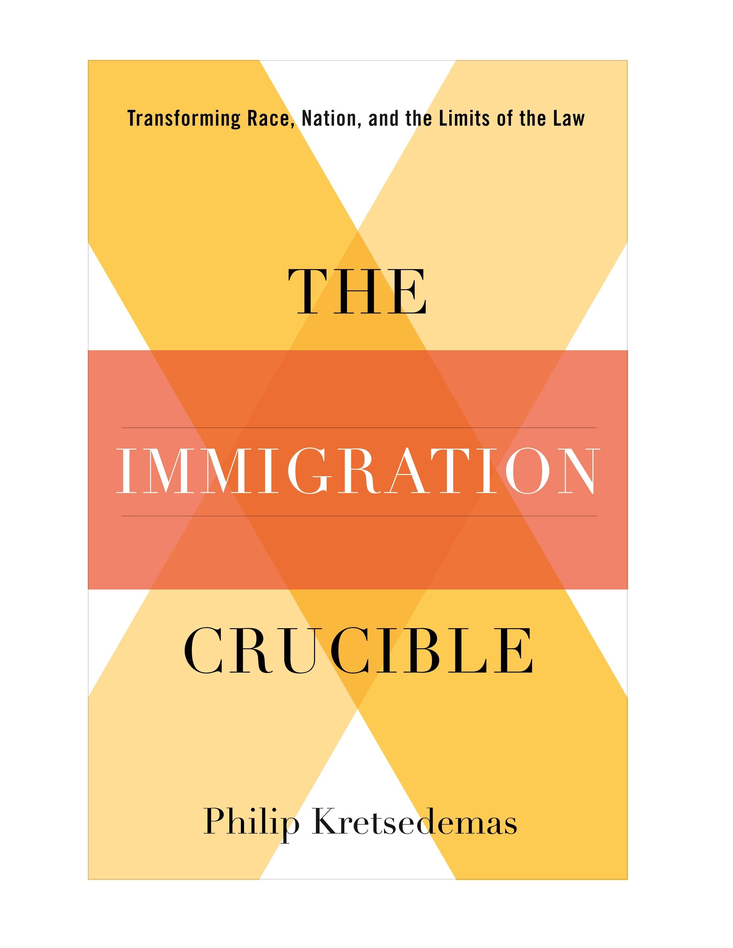 Abbildung von Kretsedemas   The Immigration Crucible   2012