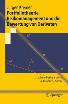 Abbildung von Kremer | Portfoliotheorie, Risikomanagement und die Bewertung von Derivaten | 2011