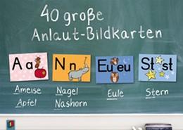 Abbildung von 40 große Anlaut-Bildkarten für Kita und Grundschule | 2010