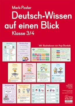 Abbildung von Merk-Poster Deutsch-Wissen auf einen Blick Klasse 3/4 | 2011