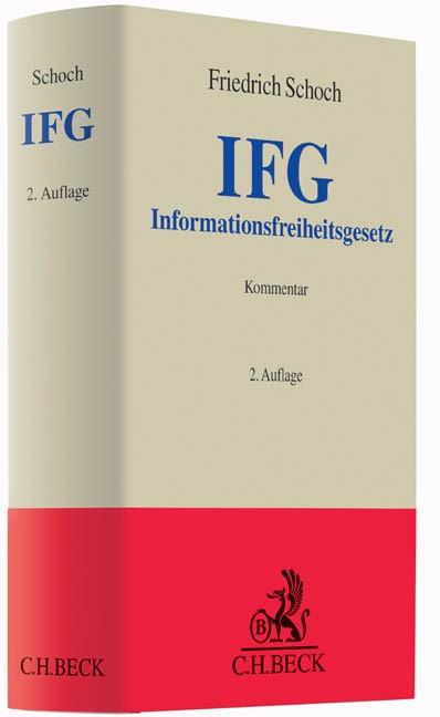 Informationsfreiheitsgesetz: IFG | Schoch | 2. Auflage, 2016 | Buch (Cover)