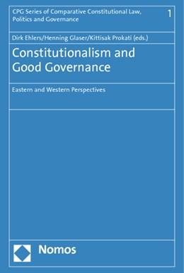 Abbildung von Ehlers / Glaser | Constitutionalism and Good Governance | 1. Auflage | 2014 | 1 | beck-shop.de