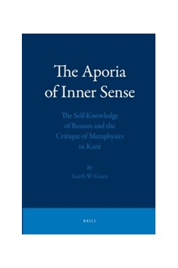 Abbildung von Green | The Aporia of Inner Sense | 2011 | The Self-Knowledge of Reason a...