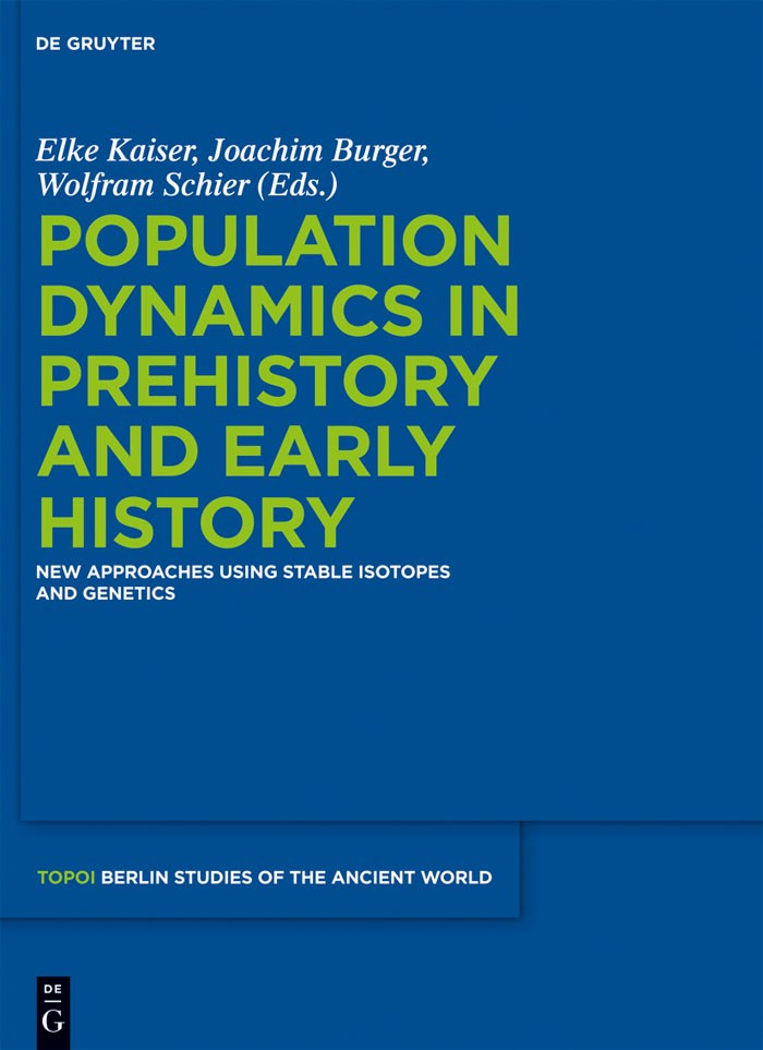 Population Dynamics in Prehistory and Early History | Kaiser / Burger / Schier, 2012 | Buch (Cover)