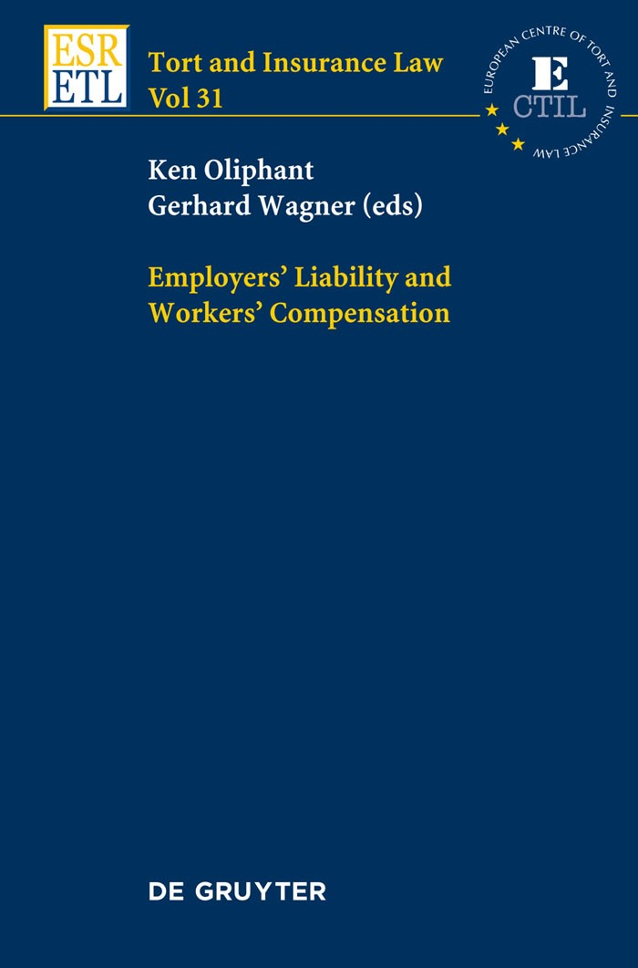 Employers' Liability and Workers' Compensation | Oliphant / Wagner | 1. Auflage 2012, 2012 | Buch (Cover)
