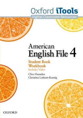 American English File: Level 4: iTools, 2011 (Cover)