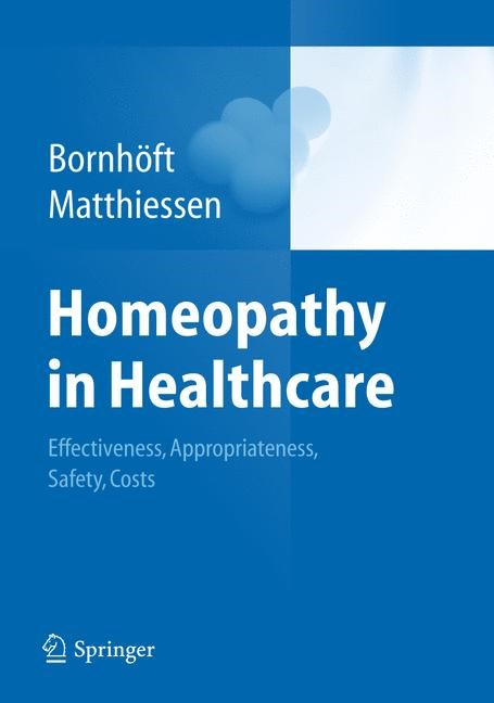 Homeopathy in Healthcare | Bornhöft / Matthiessen, 2011 | Buch (Cover)