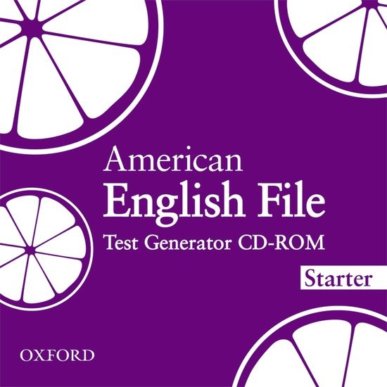 American English File Starter: Test Generator CD-ROM | Oxenden / Latham-Koenig / Seligson, 2010 (Cover)