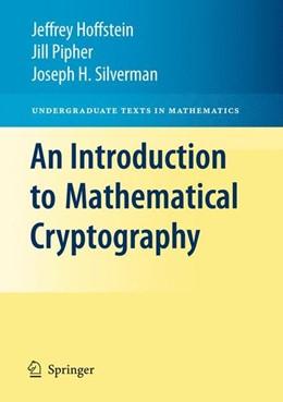 Abbildung von Hoffstein / Pipher / Silverman | An Introduction to Mathematical Cryptography | 2008 | 2008