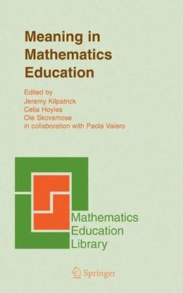 Abbildung von Meaning in Mathematics Education | 2005 | 2006