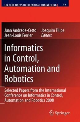 Abbildung von Informatics in Control, Automation and Robotics   2009   2009