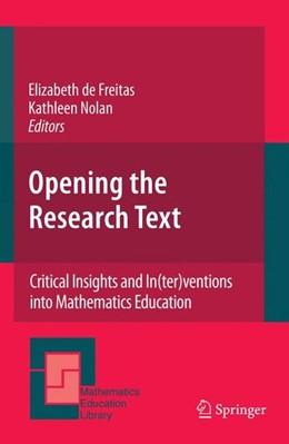 Abbildung von Freitas / Nolan | Opening the Research Text | 2008 | 2007