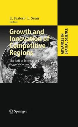 Abbildung von Fratesi / Senn | Growth and Innovation of Competitive Regions | 2009 | 2008