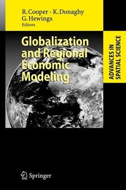 Abbildung von Globalization and Regional Economic Modeling   2007   2007
