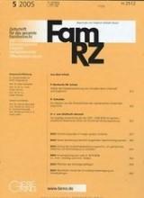 FamRZ - Zeitschrift für das gesamte Familienrecht | 65. Jahrgang (Cover)