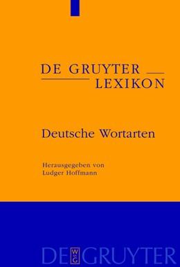 Abbildung von Hoffmann | Handbuch der deutschen Wortarten | 1. Auflage | 2009