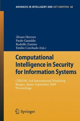 Abbildung von Computational Intelligence in Security for Information Systems | 1. Auflage | 2009 | beck-shop.de