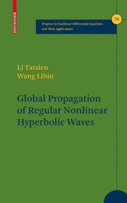 Abbildung von Libin / Tatsien | Global Propagation of Regular Nonlinear Hyperbolic Waves | 2009